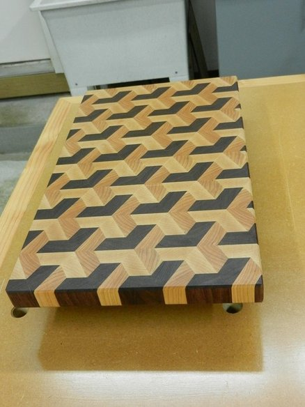 Make An End Grain Cutting Board Woodworking For Mere Mortals