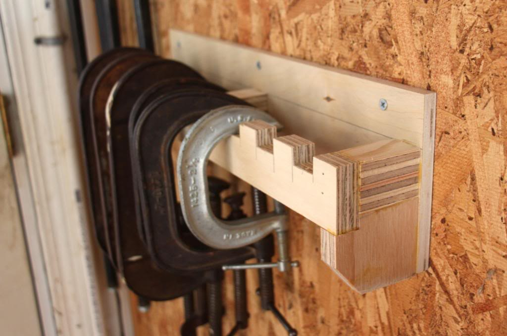 Clamp Storage Systems Woodworking For Mere Mortals