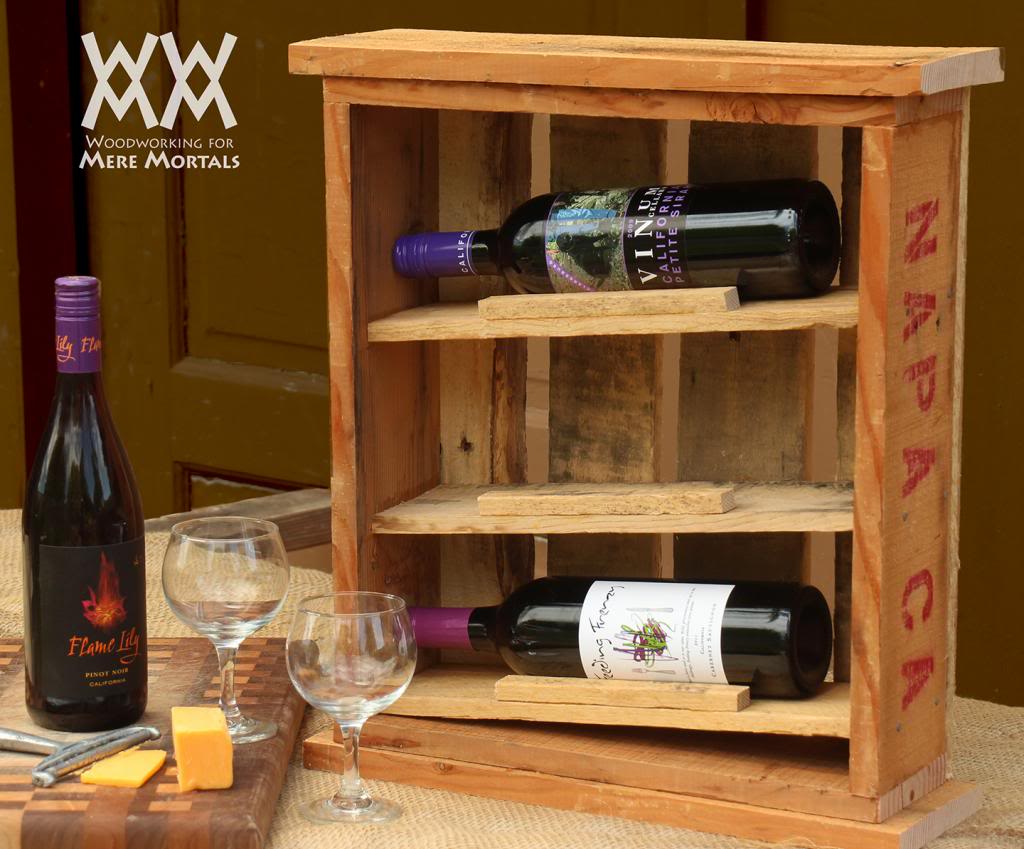 Build a Rustic Wine Cabinet
