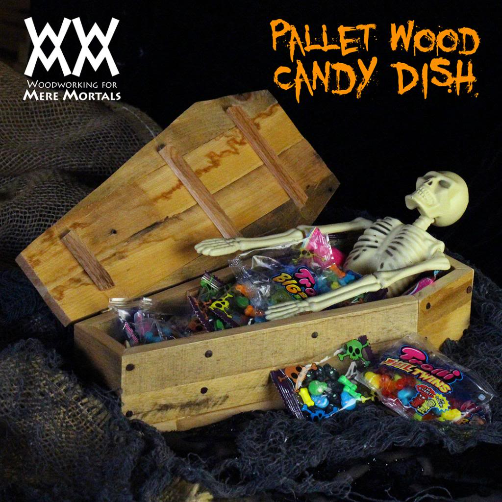 Coffin Candy Dish