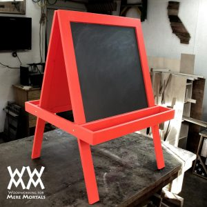 Make A Child S Art Easel Woodworking For Mere Mortals