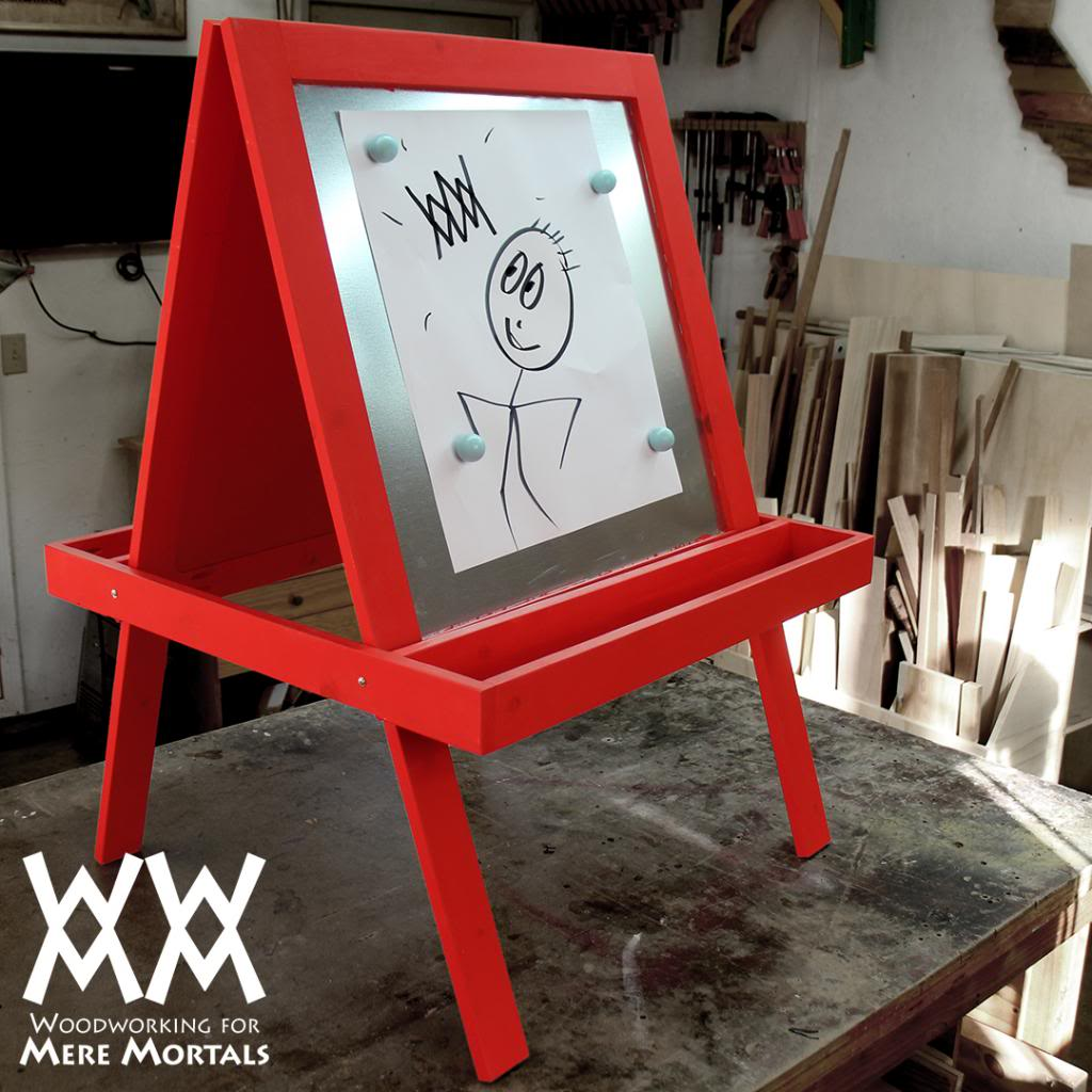 Child's Art Easel