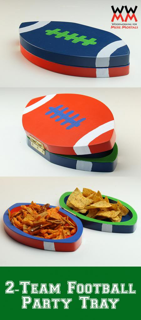 Football Party Snack Tray