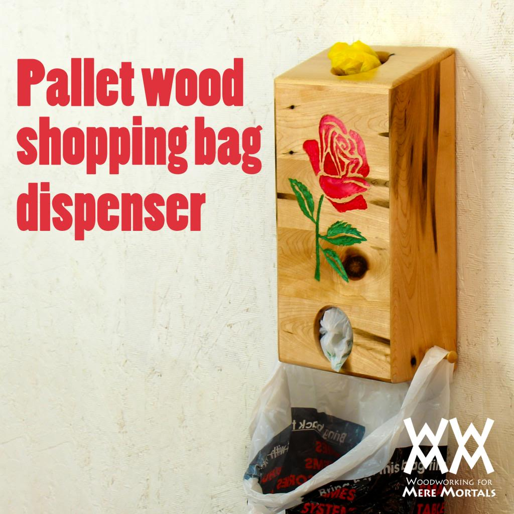 Shopping Bag Dispenser