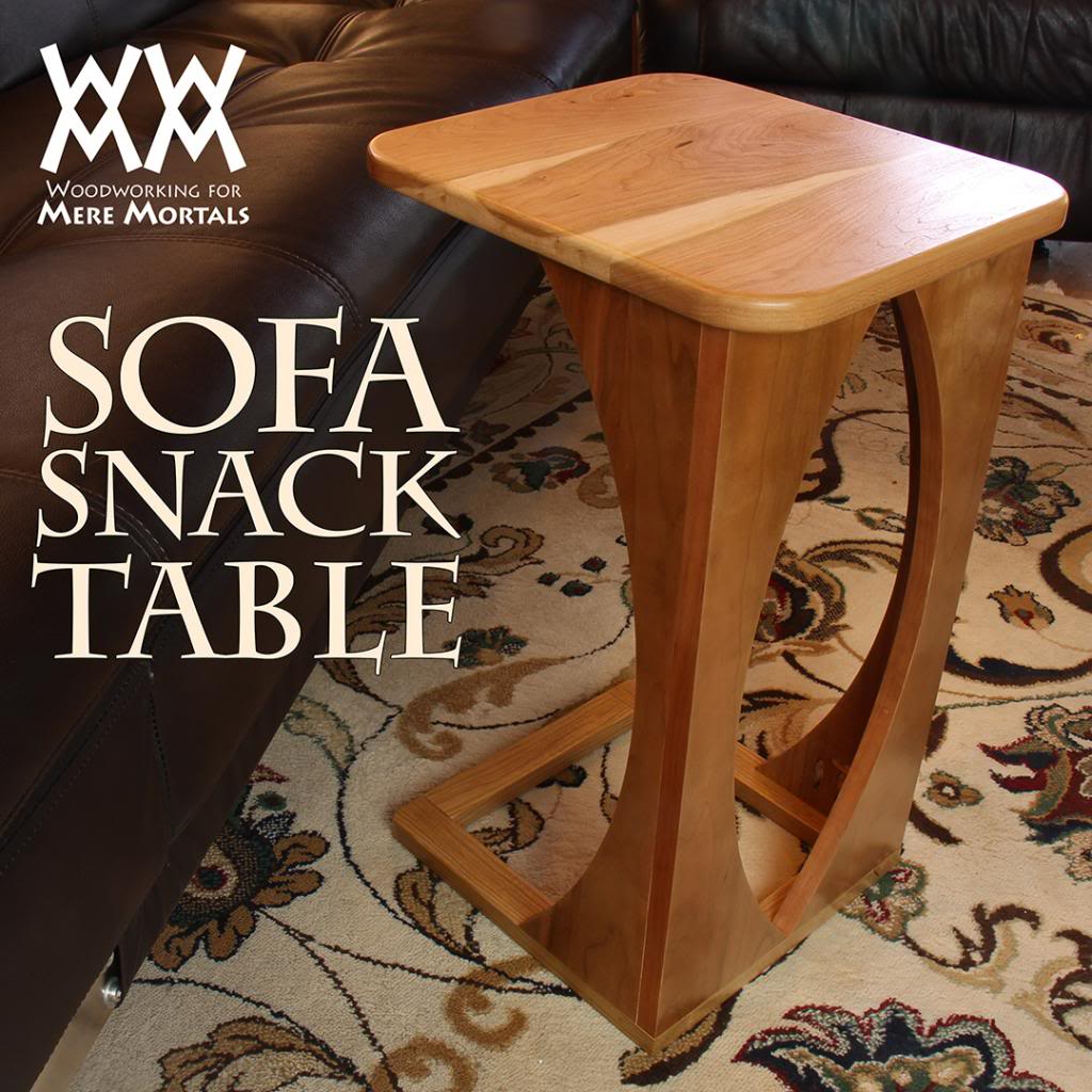 Sofa Snack Table