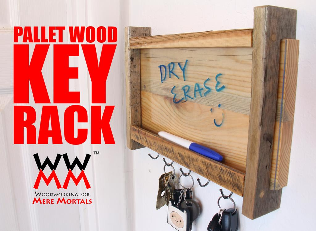 Dry Erase Key Rack