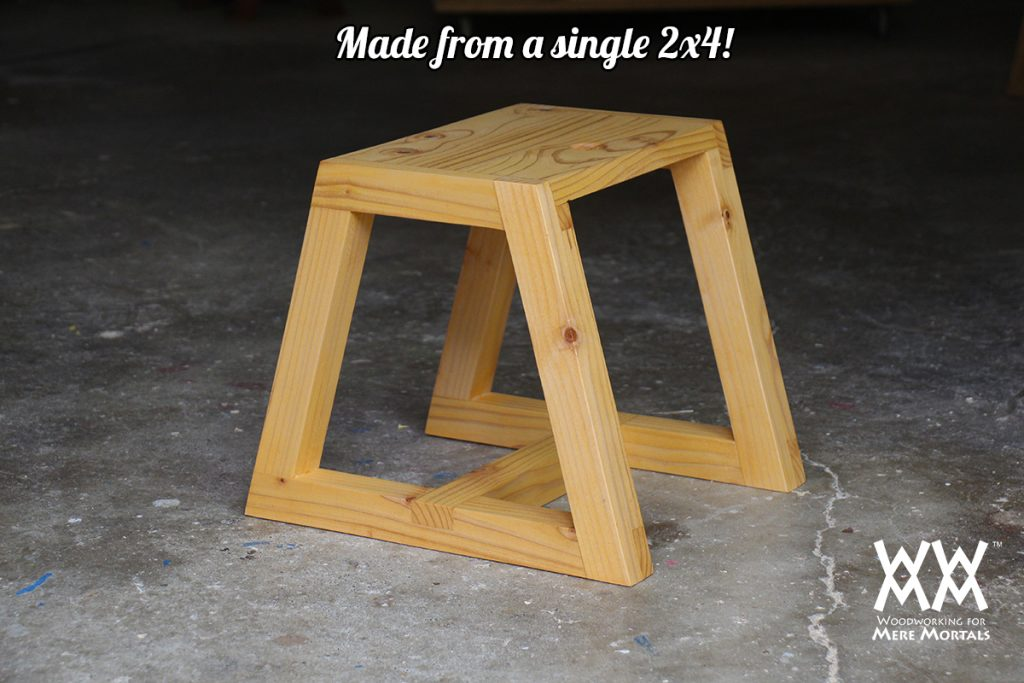 Fabulous Sturdy Utility Step Stool Made From One 24 Woodworking Ocoug Best Dining Table And Chair Ideas Images Ocougorg
