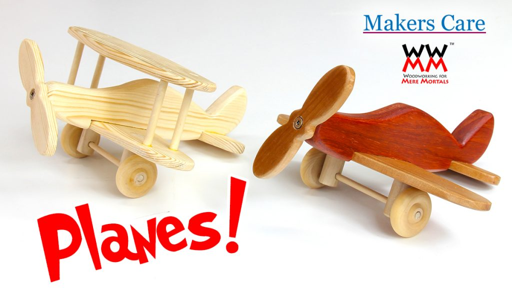 Make a Wooden Toy Plane