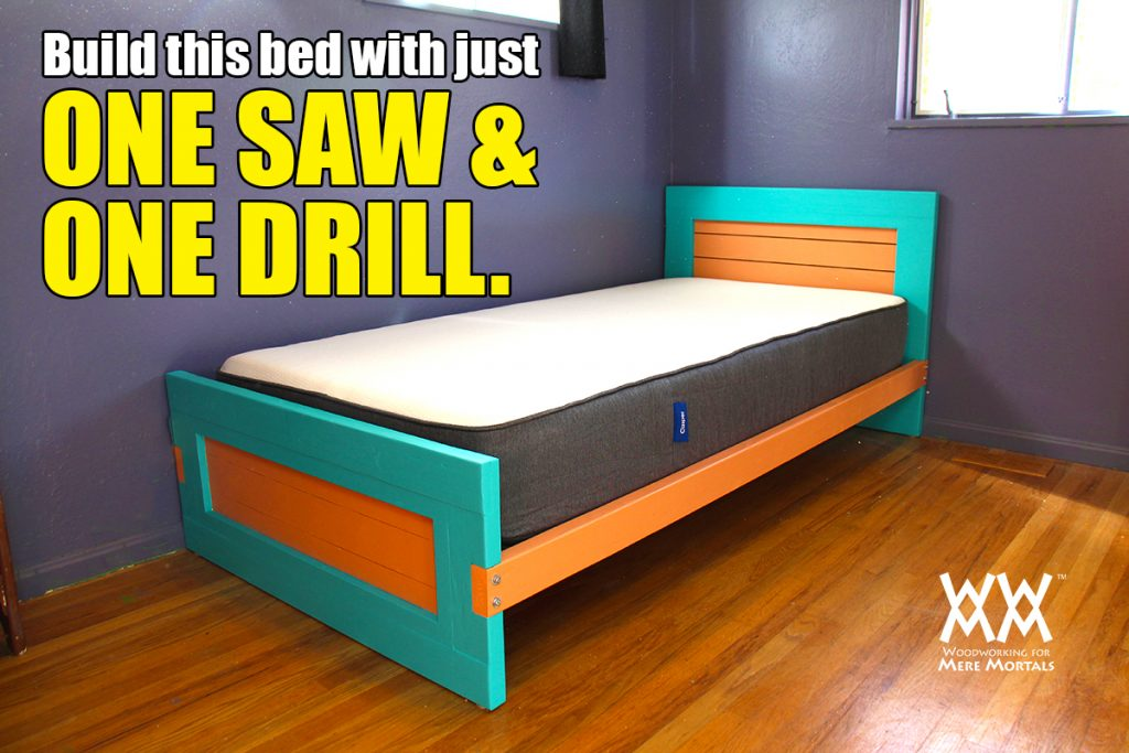 Build a Bed with Limited Space