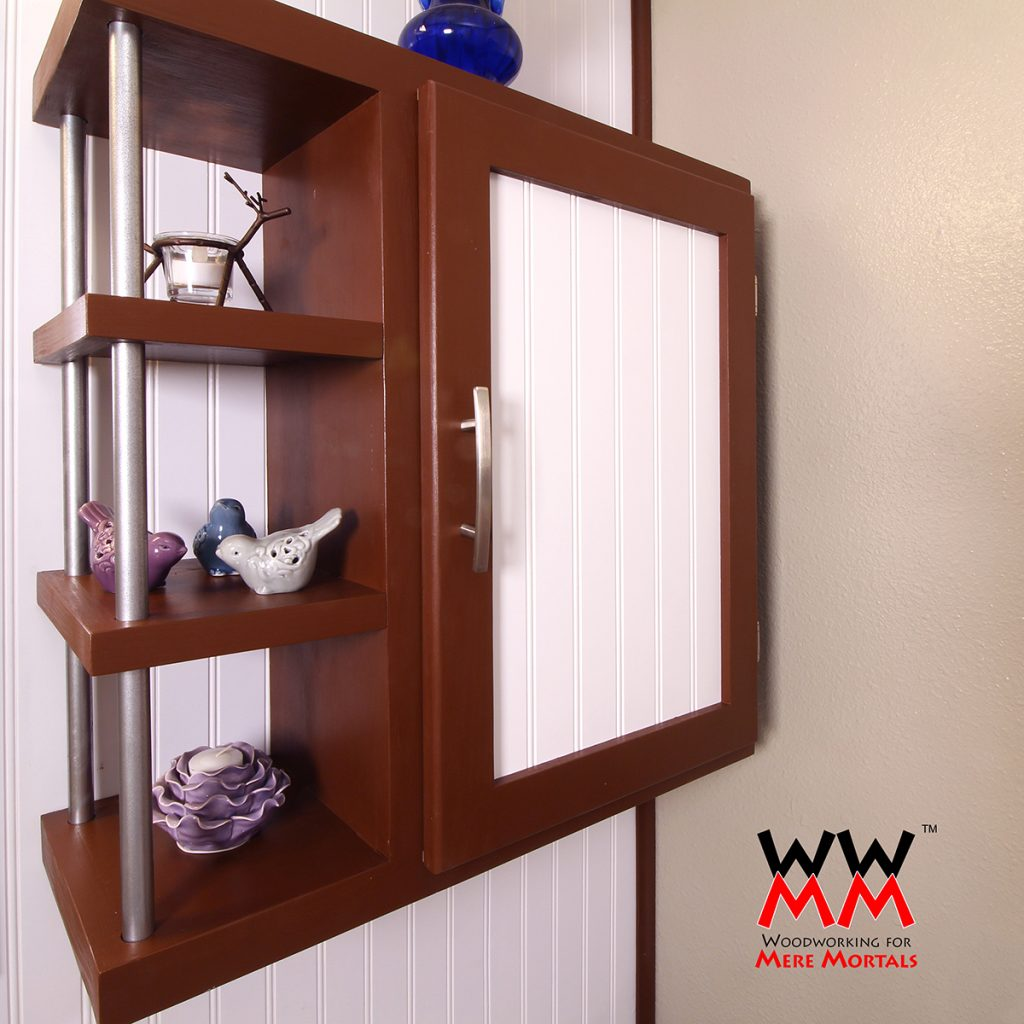 Plywood Wall Cabinet Plan: Woodworking For Mere Mortals