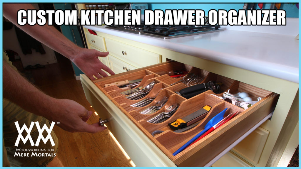DIY Kitchen Drawer Organizer