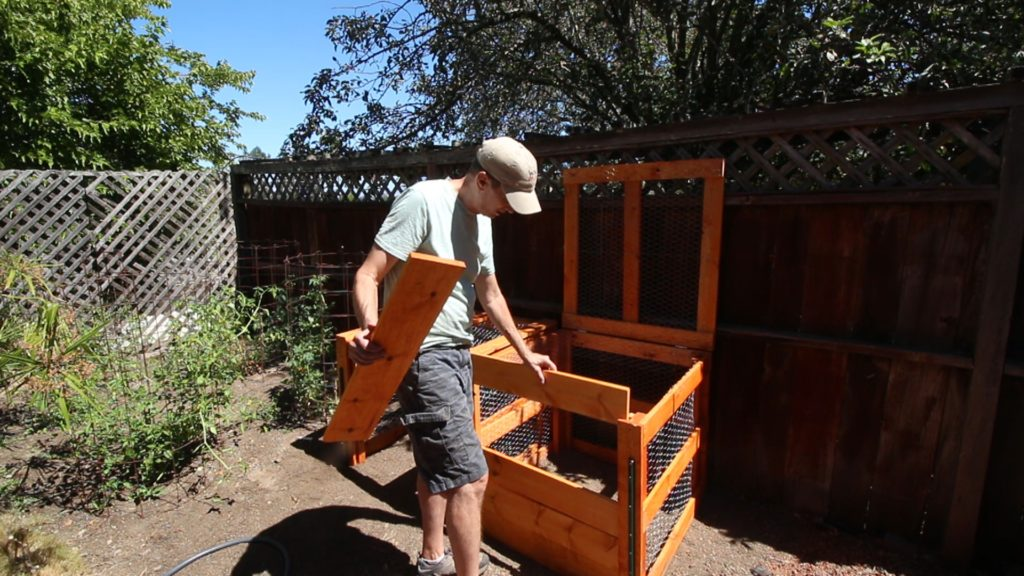 Easy to Build Compost Bin