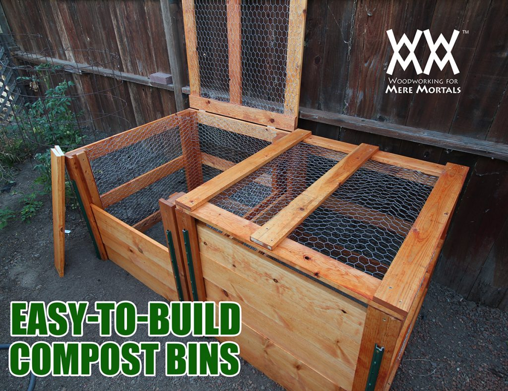 How To Make A Compost Bin Using Limited Tools