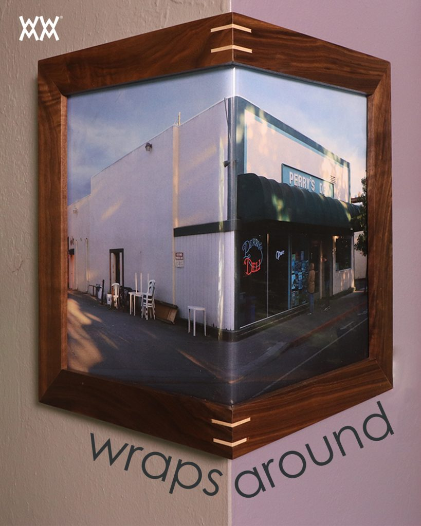wrap-around corner picture frames   woodworking for mere mortals