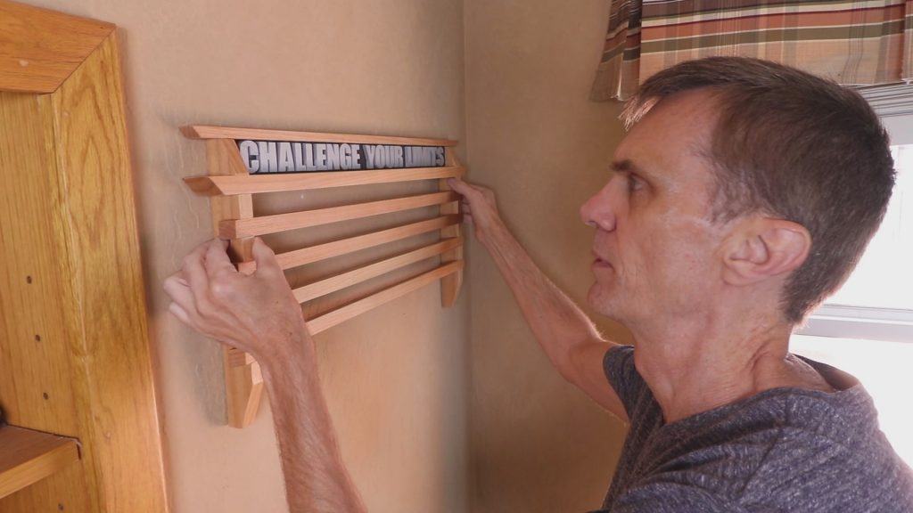 Running Medals Display Rack Woodworking Project Woodworking For Mere Mortals