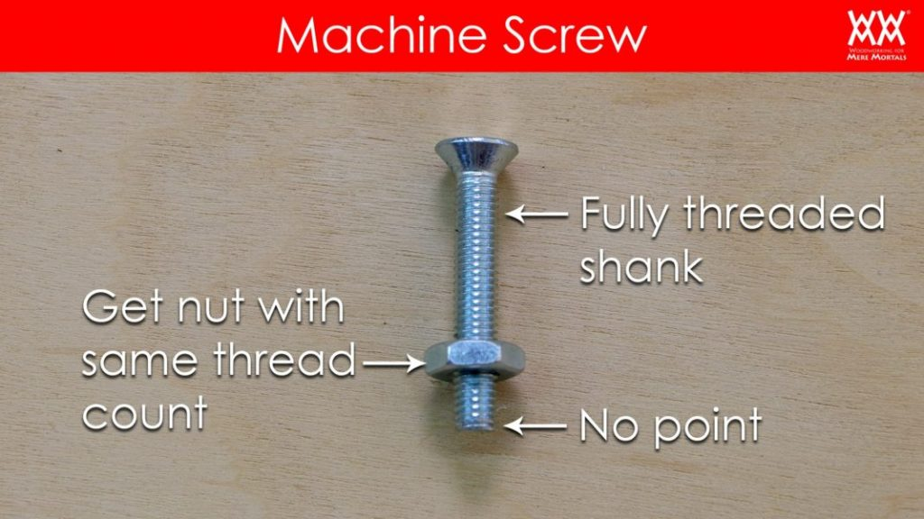 Types Of Screws And When To Use Them Woodworking For