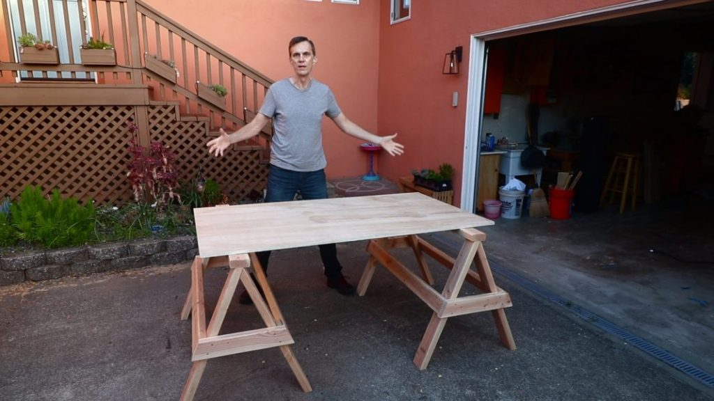 Sturdy Stacking Sawhorses