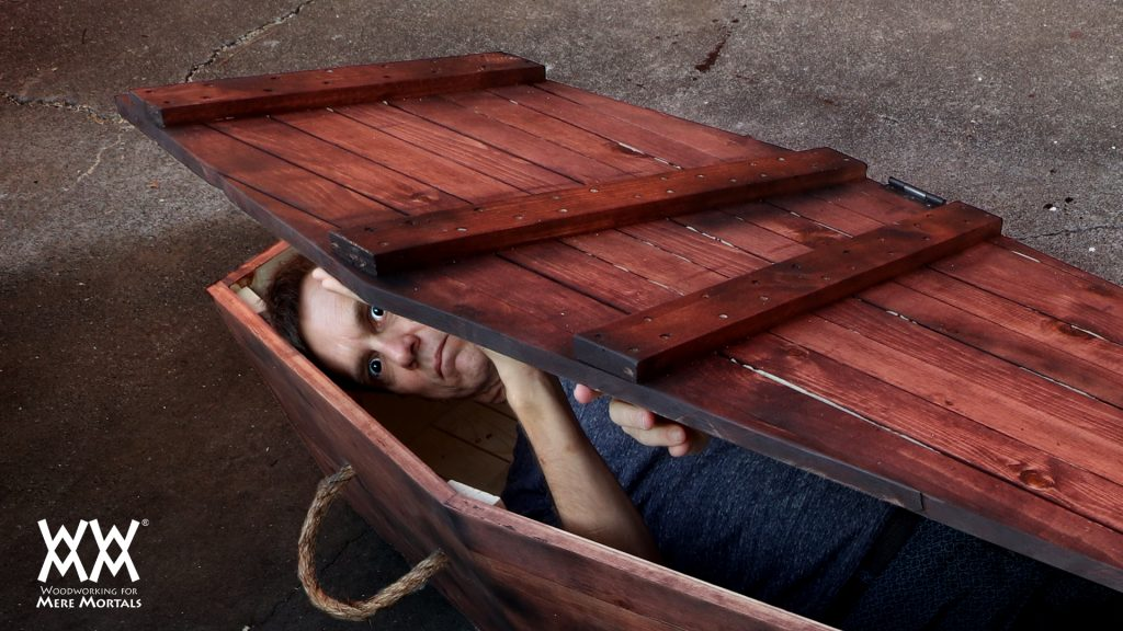 How to build a prop Halloween Coffin