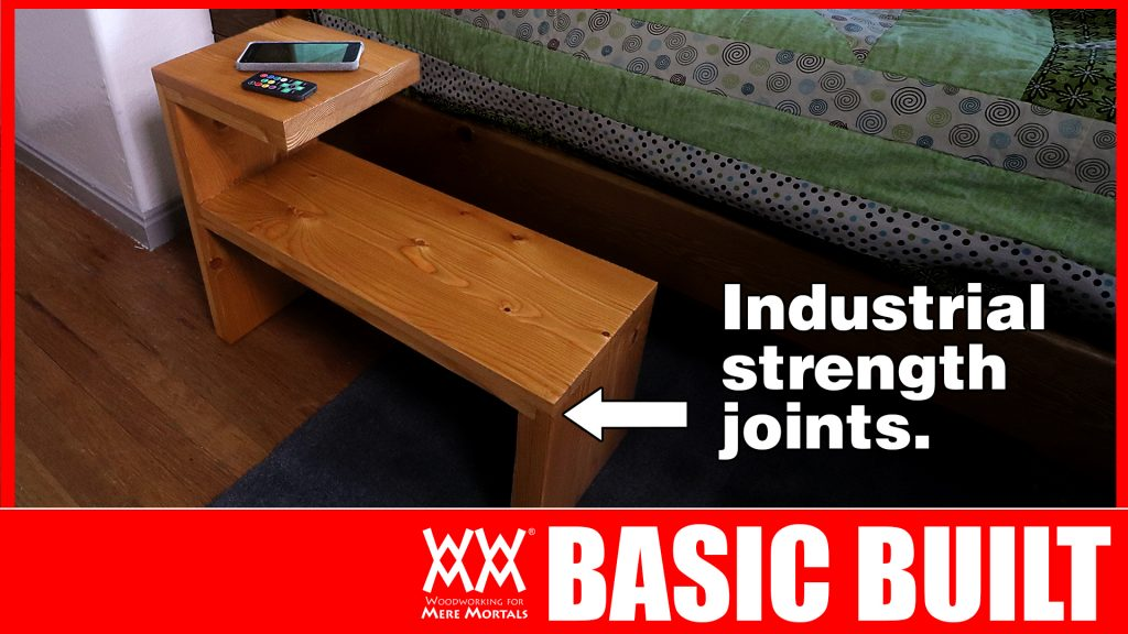 Basic Built side wood table