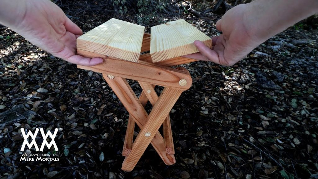 Folding Campfire Seat Woodworking For Mere Mortals