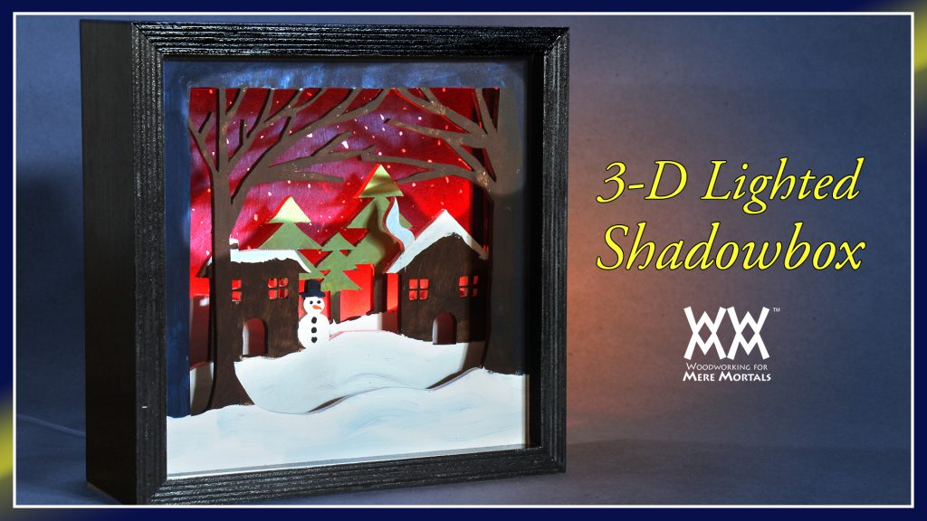 Lighted 3-D Shadowbox