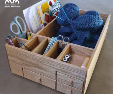 The Knitting Box Woodworking Plan