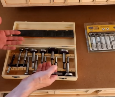 Forstner Bit Storage Hack