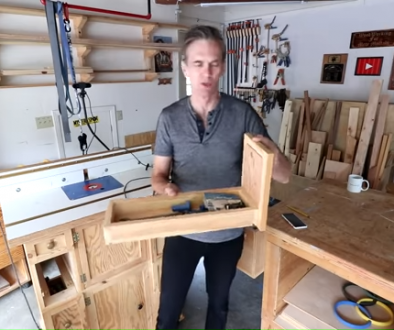 Router bit storage in my router table